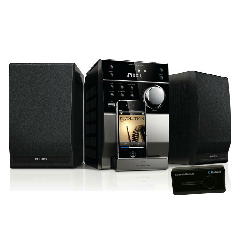 philips dcm1130 neo sound r cepteur bluetooth cha ne hifi philips sur. Black Bedroom Furniture Sets. Home Design Ideas