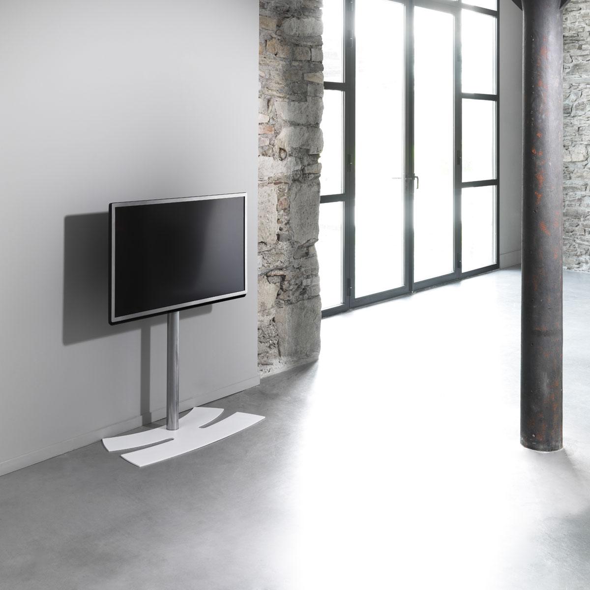 Erard Lux Up 1400xl Noir Support Mural Tv Erard Group Sur Ldlc Com # Meuble Tv Fixation Murale