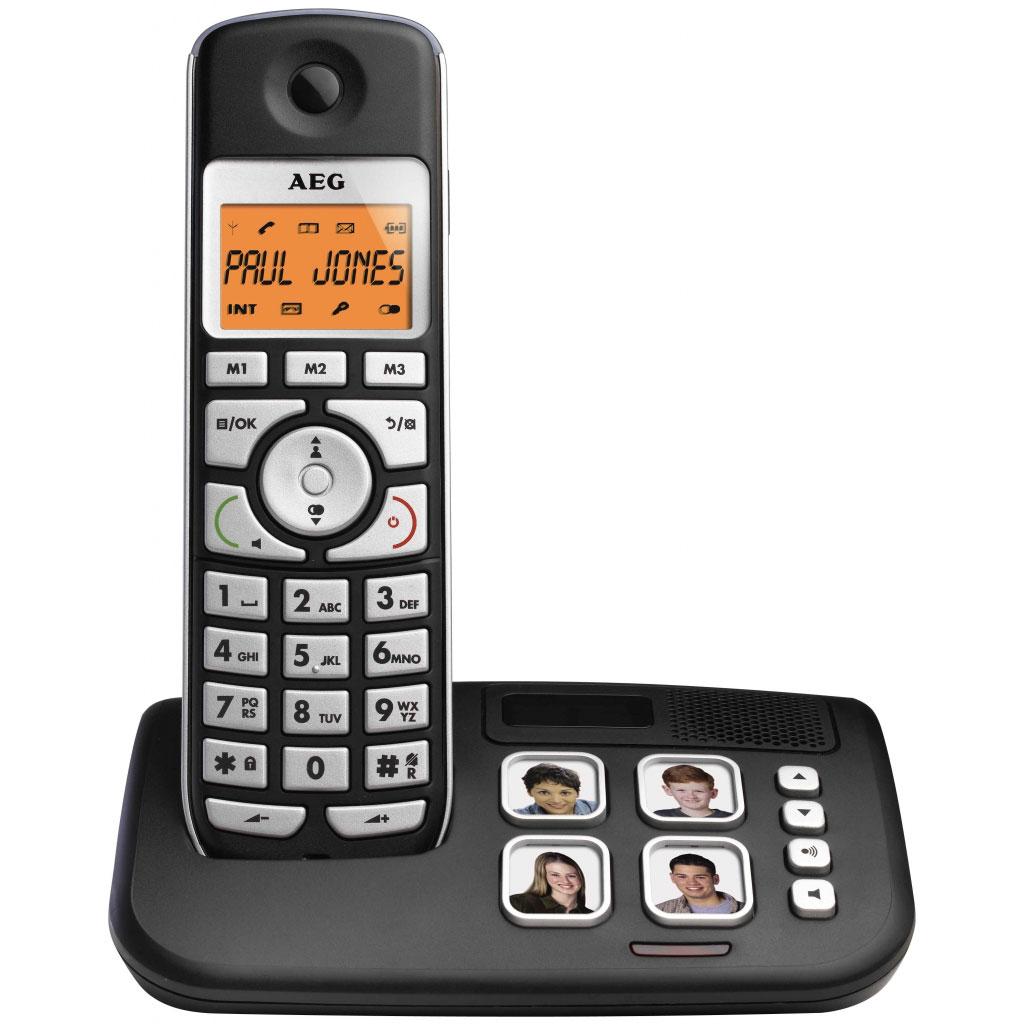 Téléphone sans fil AEG Voxtel S120 Téléphone DECT sans fil (version française)
