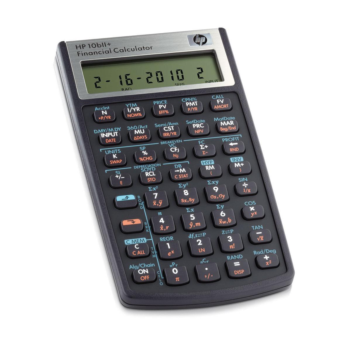 Hp 10bii Calculatrice Hp Sur Ldlc Com