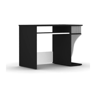 Meuble ordinateur Elmob Computer Desk CD 210-02 Noir Elmob Computer Desk CD 210-02 Noir
