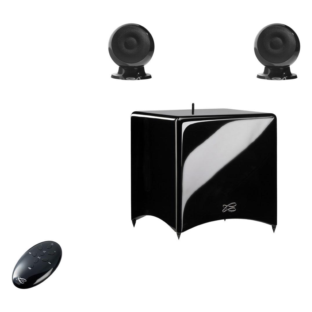cabasse stream 3 noir enceintes hifi cabasse sur. Black Bedroom Furniture Sets. Home Design Ideas