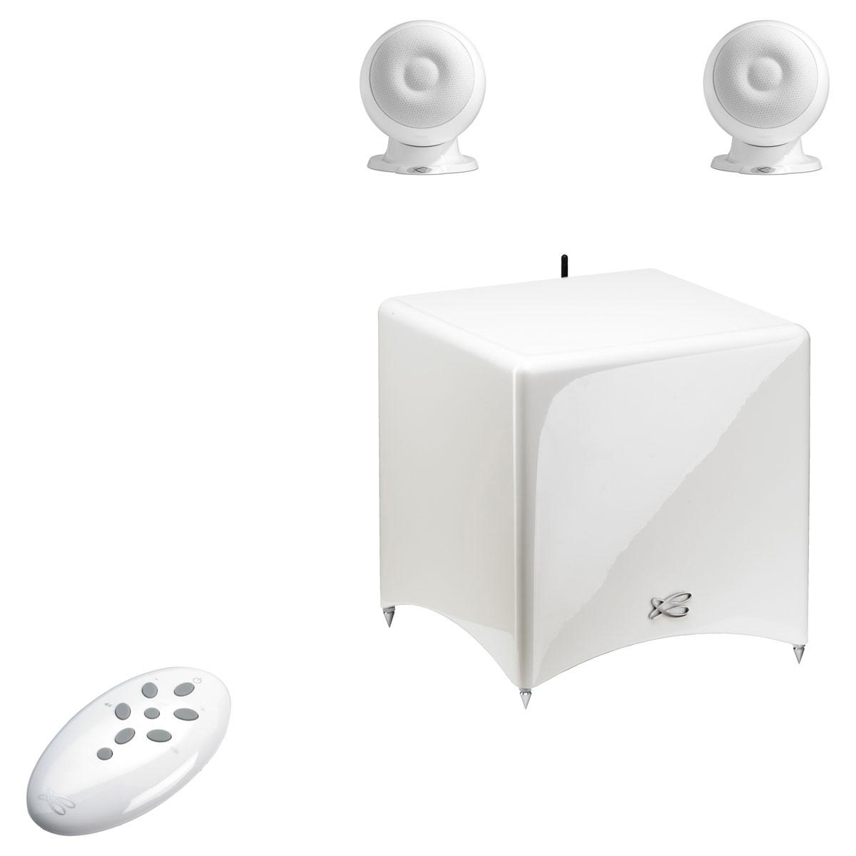 cabasse stream 3 blanc enceintes hifi cabasse sur. Black Bedroom Furniture Sets. Home Design Ideas