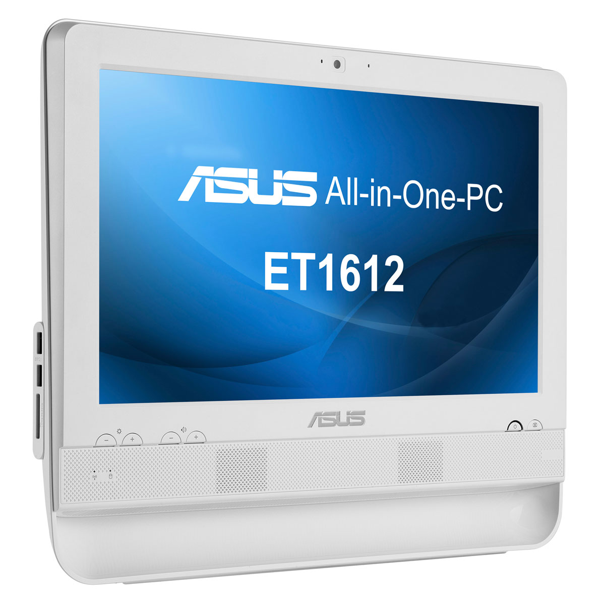 asus all in one pc et1612iuts w004d blanc pc de bureau asus sur. Black Bedroom Furniture Sets. Home Design Ideas