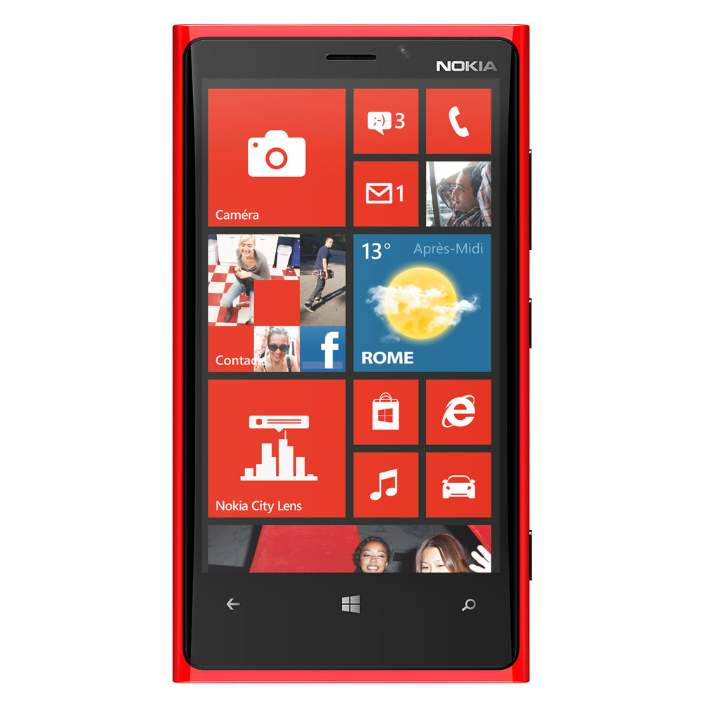 nokia lumia 920 rouge mobile smartphone nokia sur. Black Bedroom Furniture Sets. Home Design Ideas
