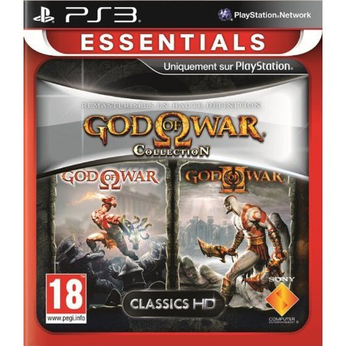 god of war volume 1 essentials collection ps3 sony interactive entertainment sur. Black Bedroom Furniture Sets. Home Design Ideas