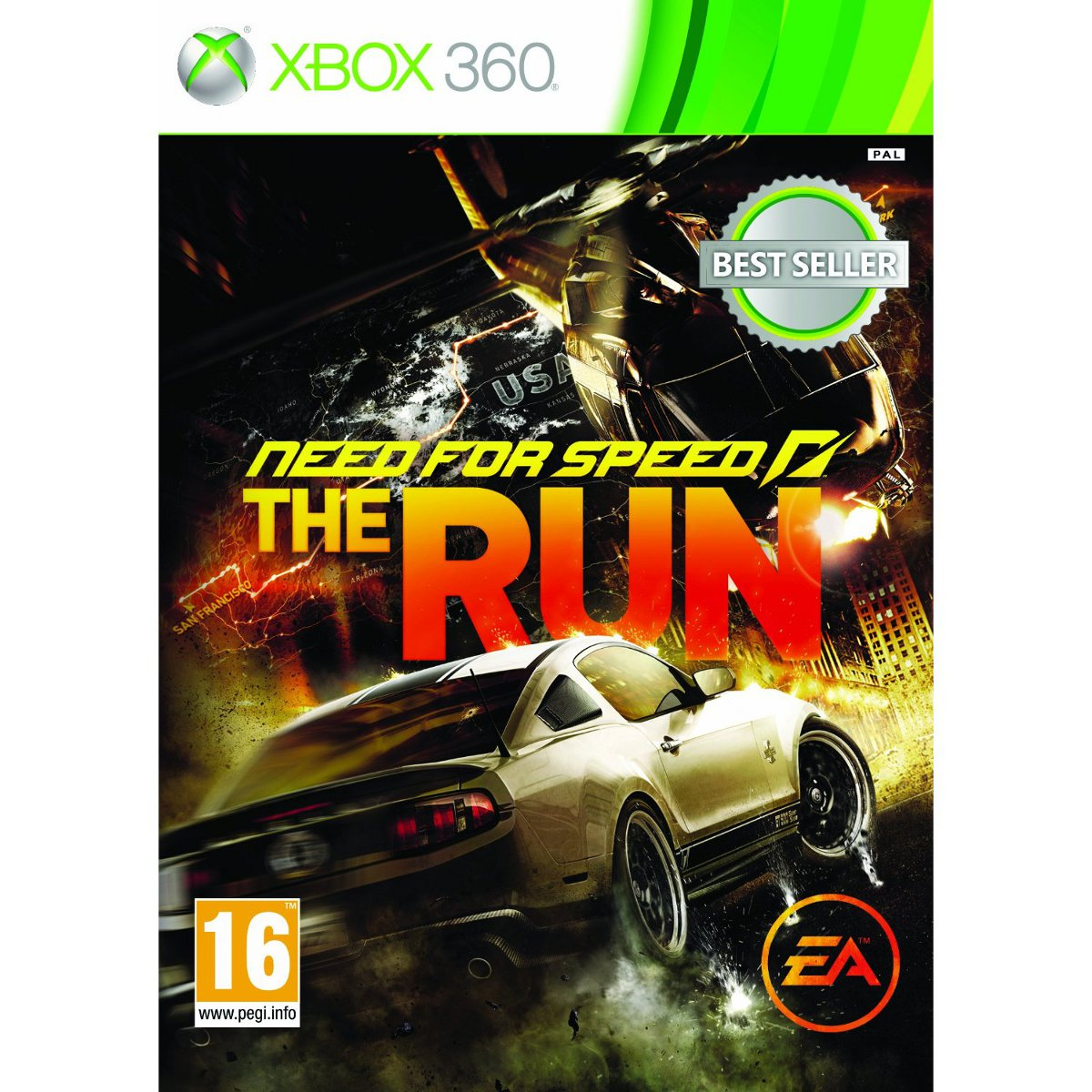 need for speed the run classics xbox 360 jeux xbox 360 electronic arts sur. Black Bedroom Furniture Sets. Home Design Ideas