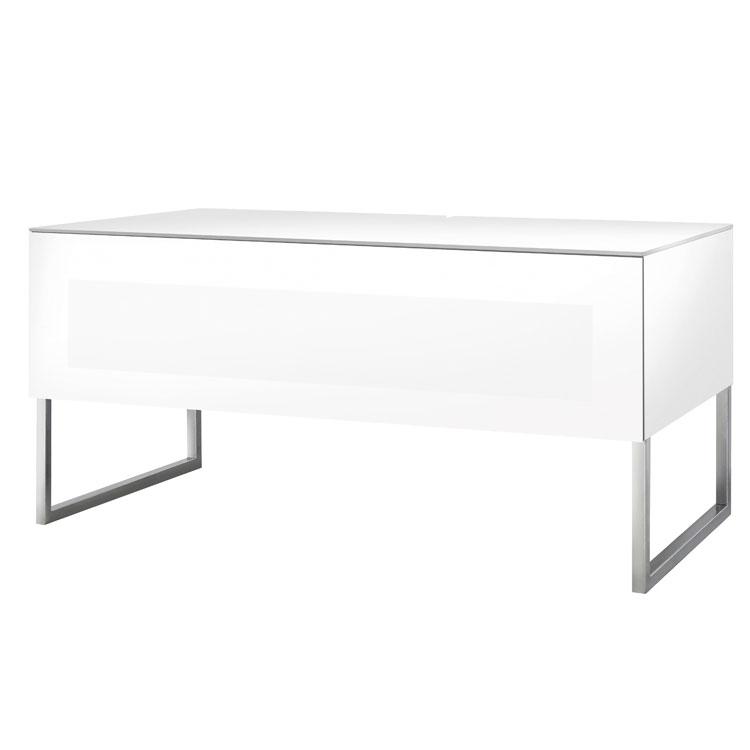Norstone khalm blanc meuble tv norstone sur ldlc for Meuble mural videoprojecteur