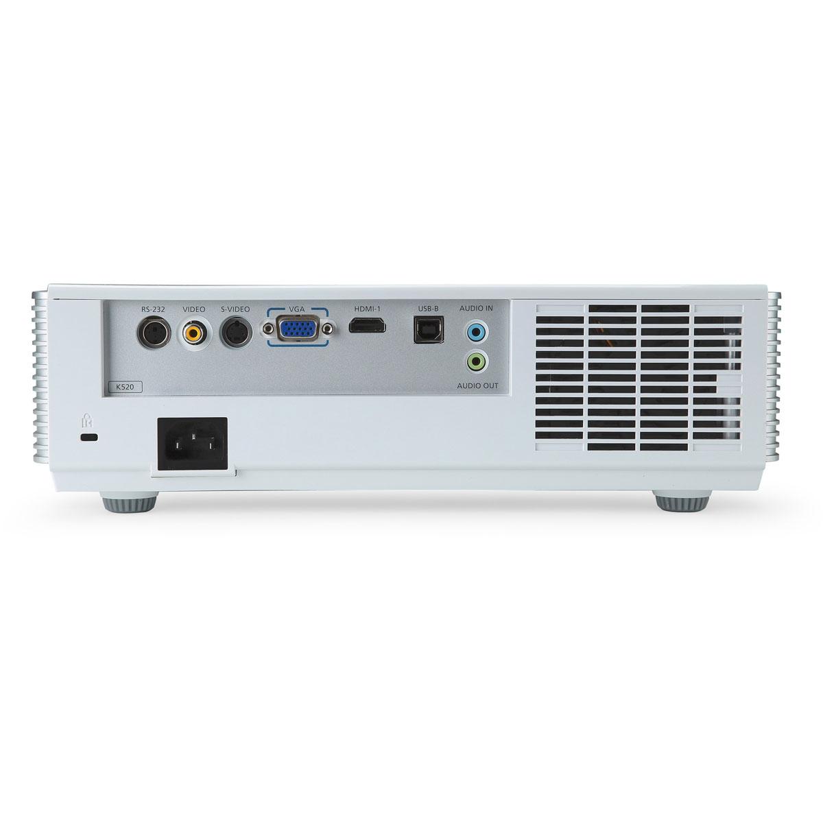 Acer k520 vid oprojecteur acer sur ldlc for Meuble videoprojecteur