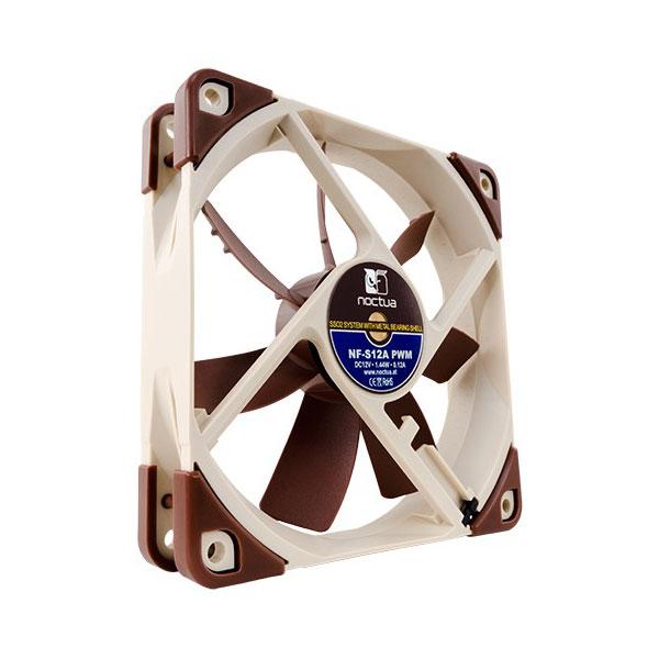 Ventilateur boîtier Noctua NF-S12A PWM Ventilateur de boîtier silencieux 120mm PWM