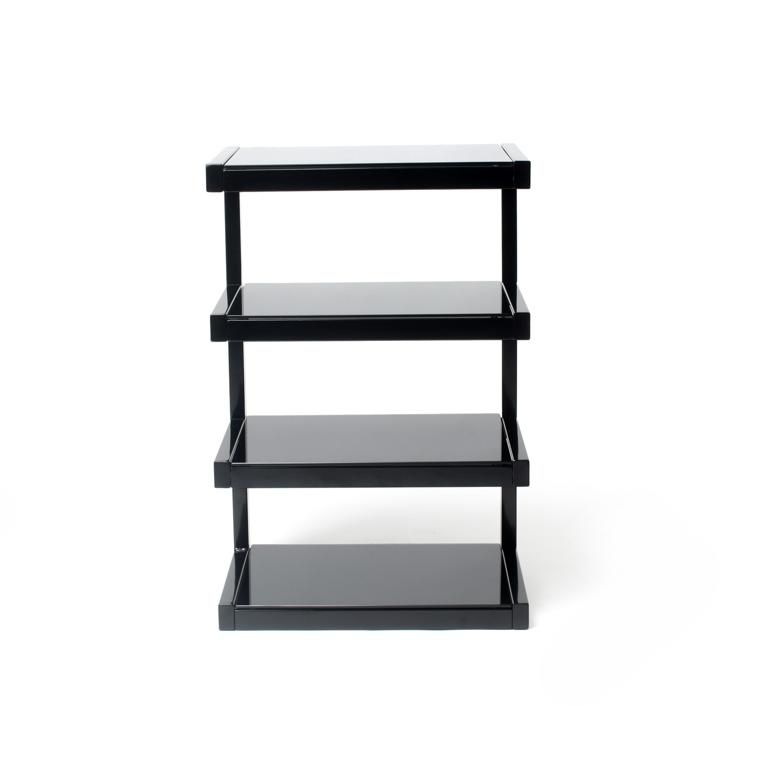 norstone esse hifi noir meuble tv norstone sur. Black Bedroom Furniture Sets. Home Design Ideas