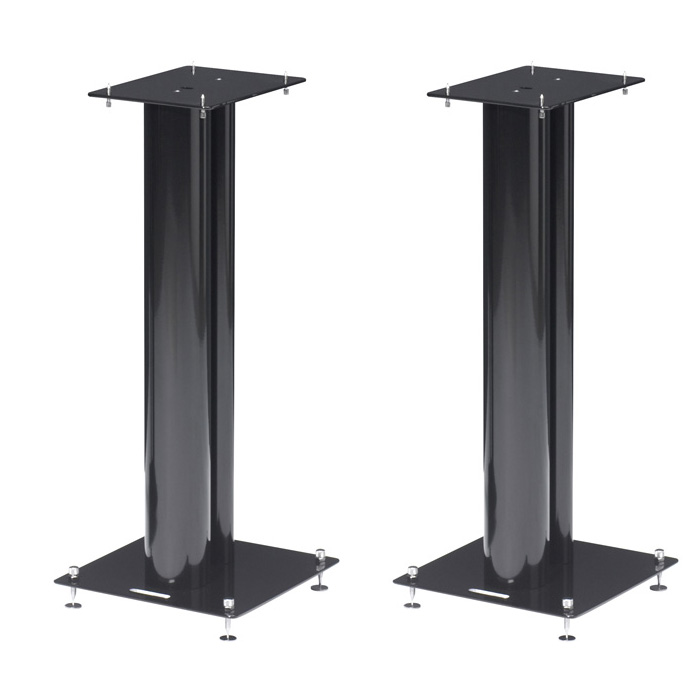 norstone stylum 2 noir par paire pied support enceinte norstone sur. Black Bedroom Furniture Sets. Home Design Ideas