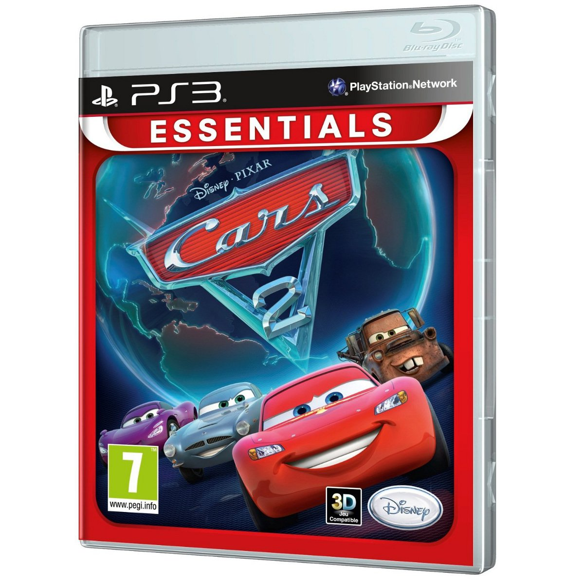 cars 2 essentials collection ps3 disney interactive studios sur. Black Bedroom Furniture Sets. Home Design Ideas
