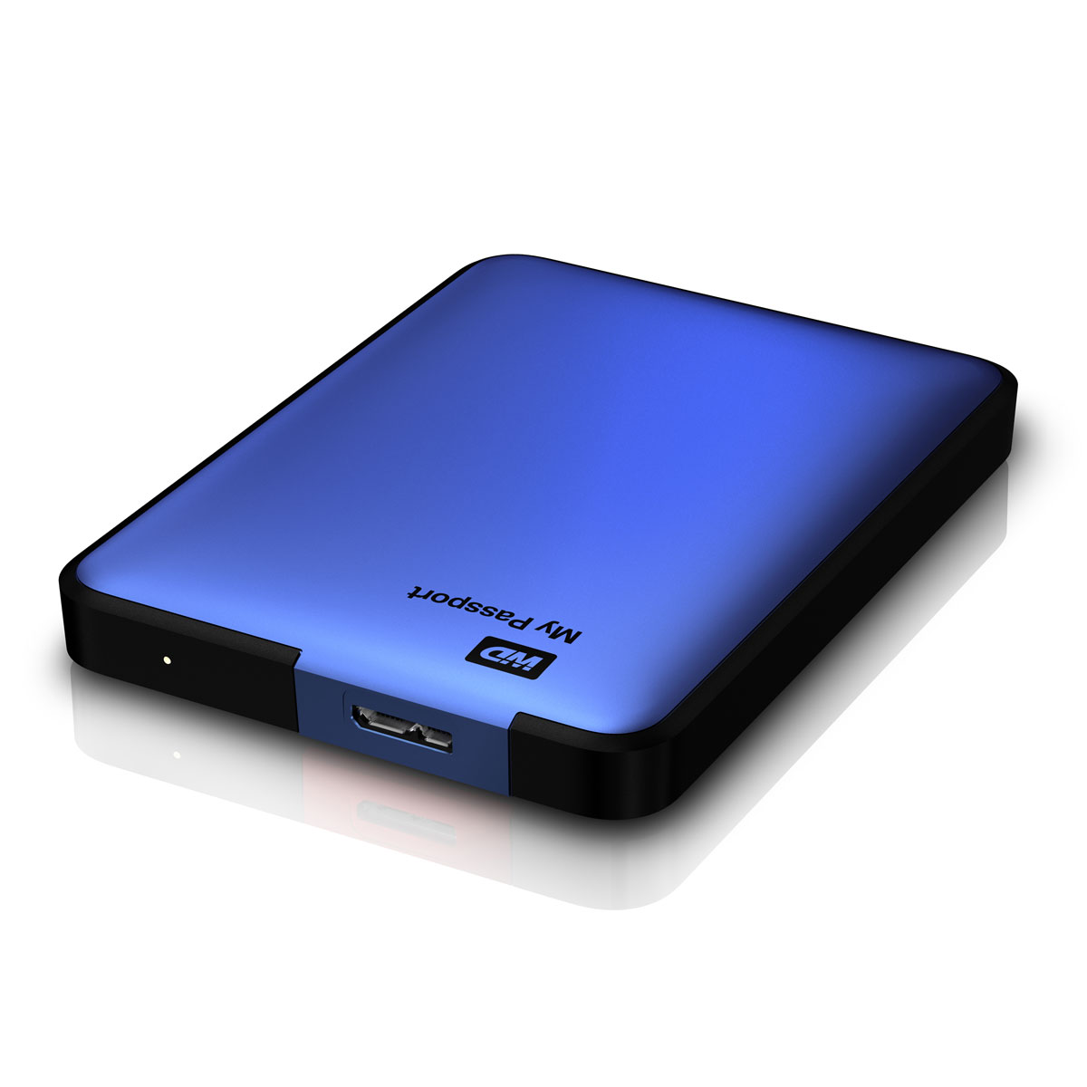 western digital my passport 1 to bleu usb 3 0 disque. Black Bedroom Furniture Sets. Home Design Ideas