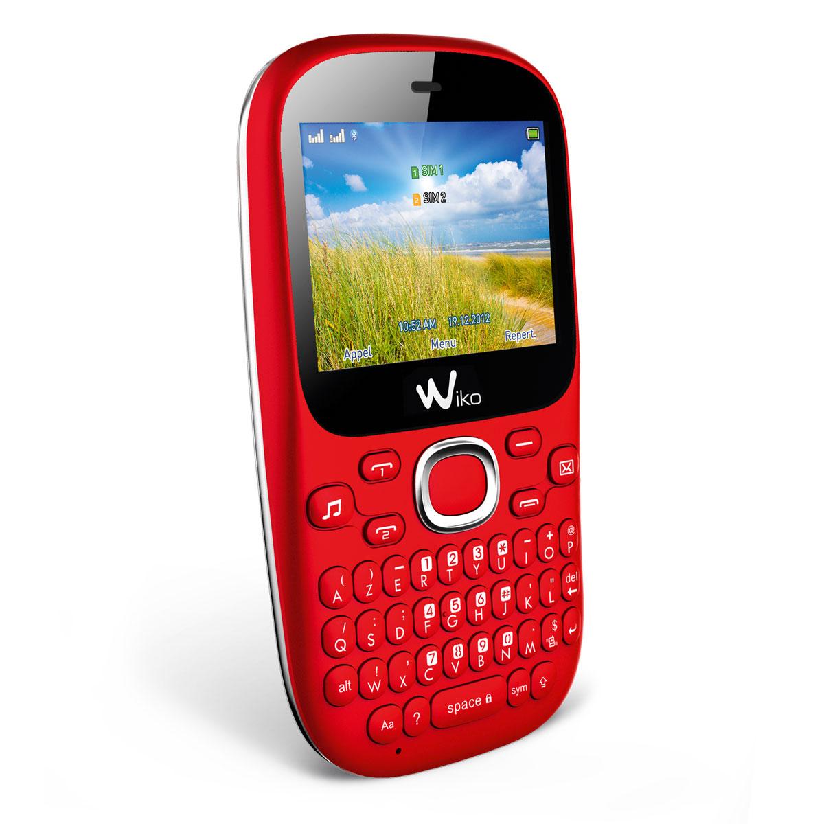 wiko minz rouge mobile smartphone wiko sur. Black Bedroom Furniture Sets. Home Design Ideas