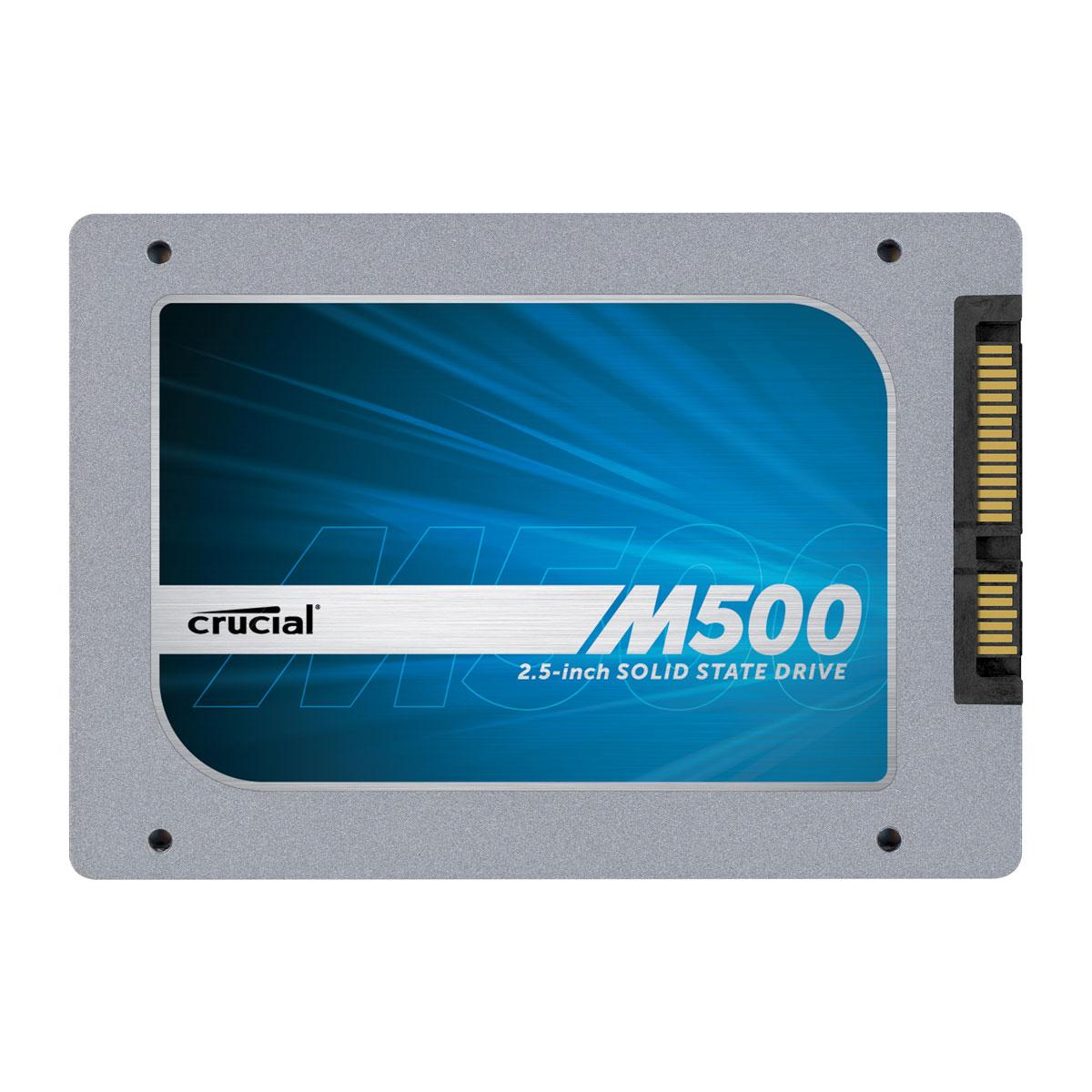"Disque SSD Crucial M500 960 Go SSD 960 Go 2.5"" 7mm Serial ATA 6Gb/s"