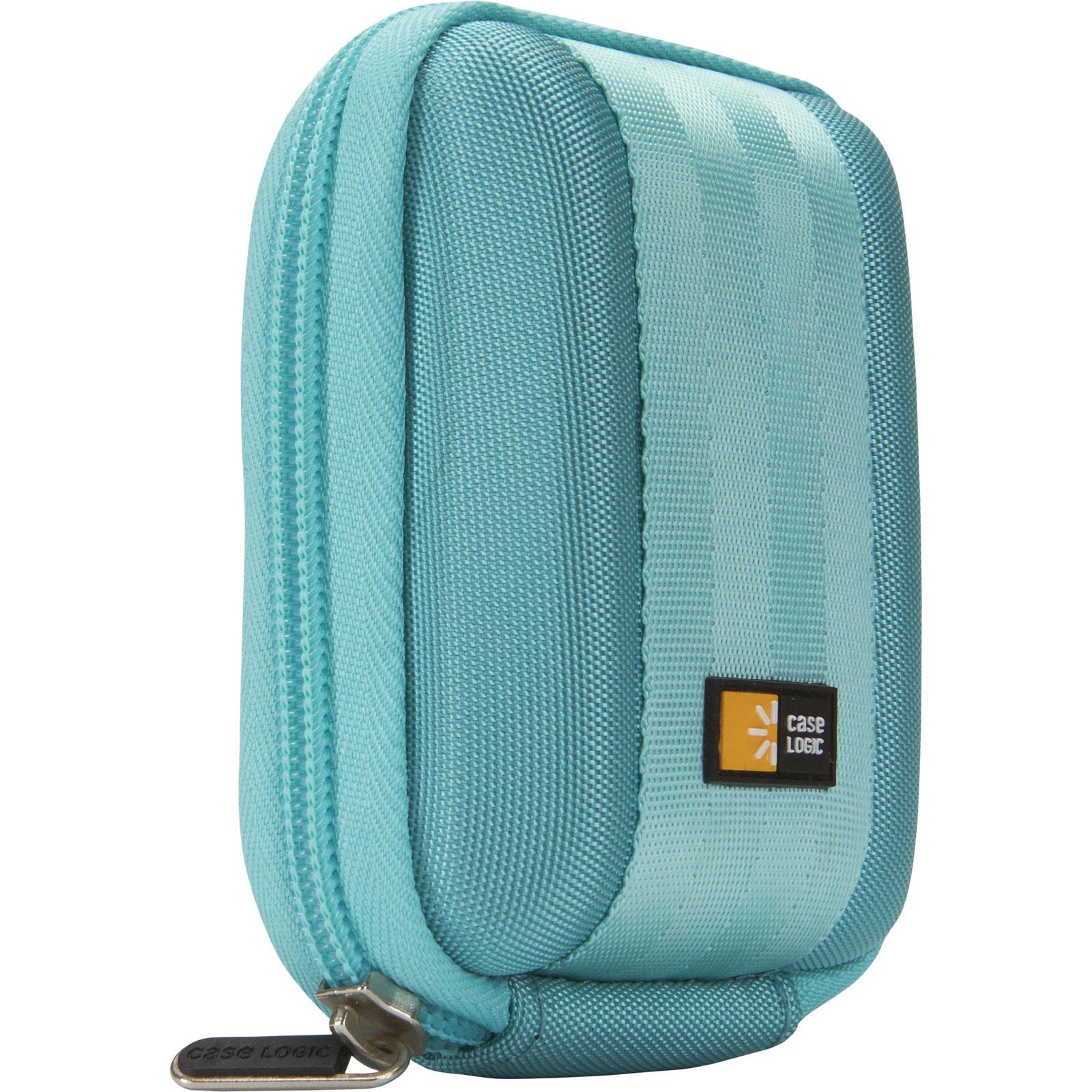 Sac & étui photo Case Logic QPB-201B Étui semi-rigide pour appareil photo compact (coloris bleu)
