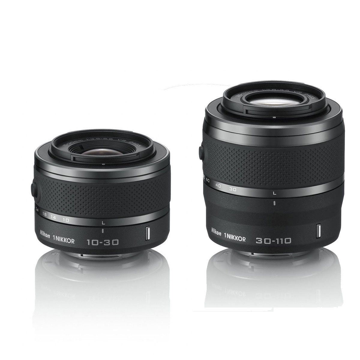 nikon 1 j3 kit zoom avec deux objectifs noir appareil photo hybride nikon sur. Black Bedroom Furniture Sets. Home Design Ideas