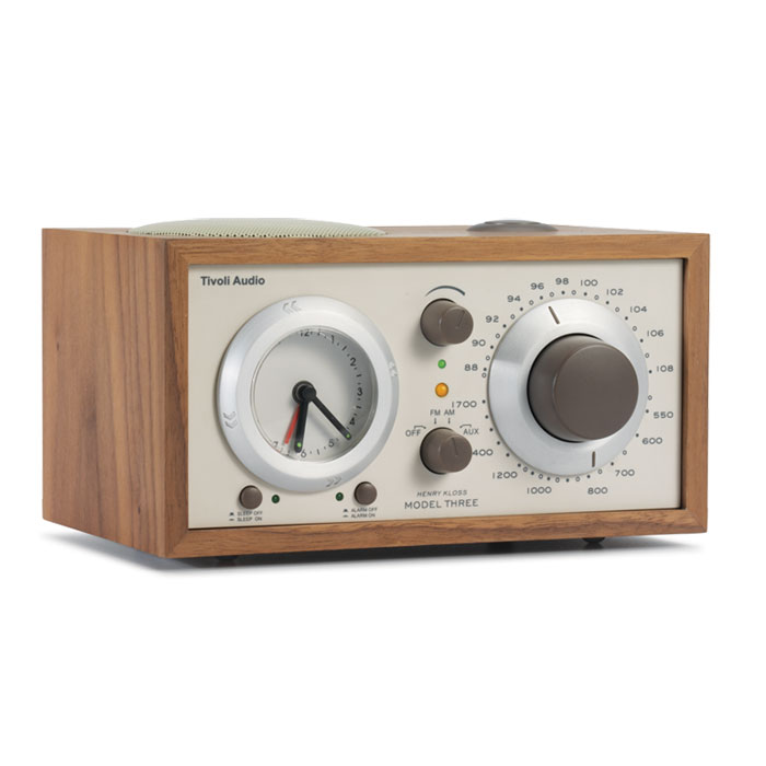 tivoli audio m3 walnut beige radio radio r veil tivoli audio sur. Black Bedroom Furniture Sets. Home Design Ideas