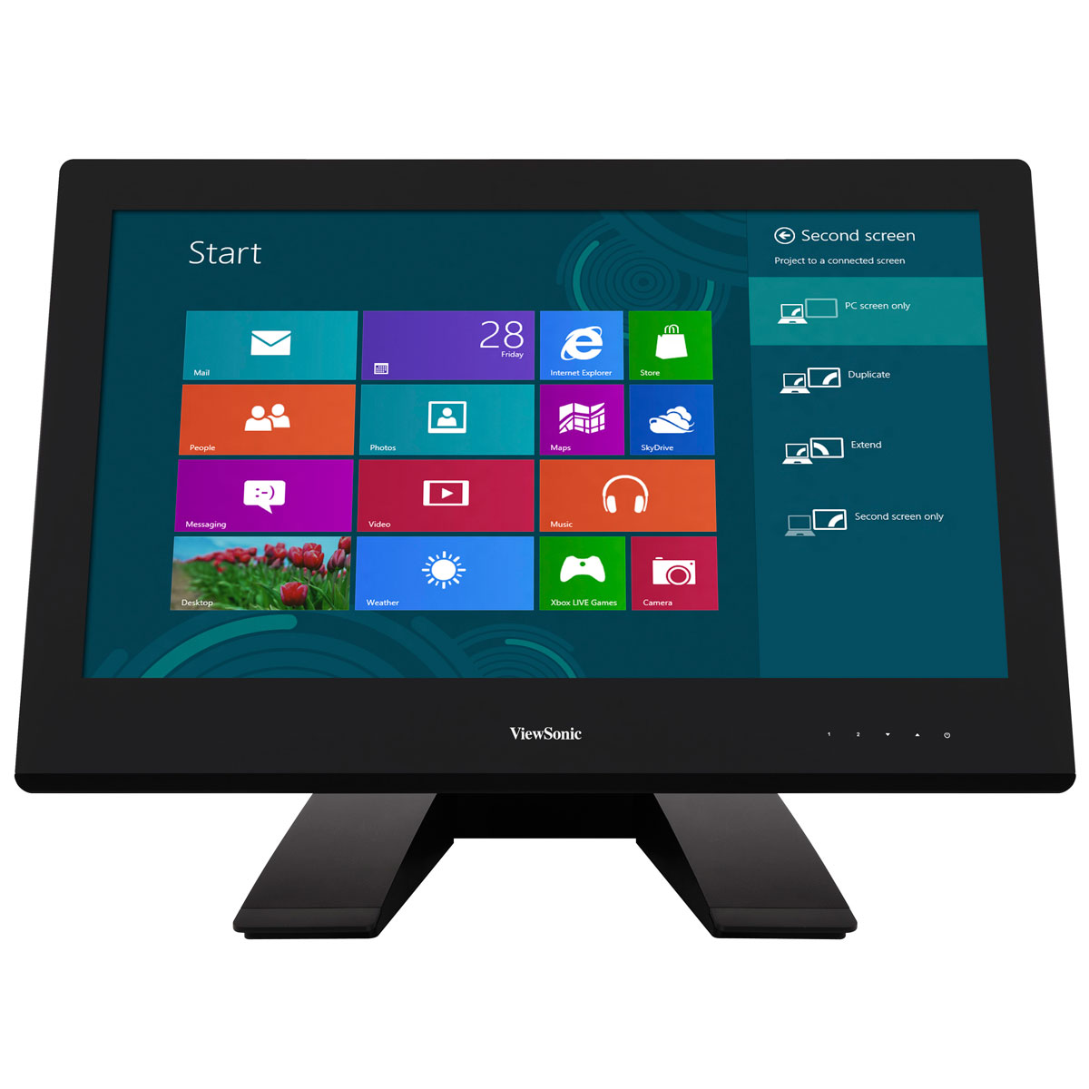 Viewsonic 23 led tactile td2340 ecran pc viewsonic for Dalle ips va