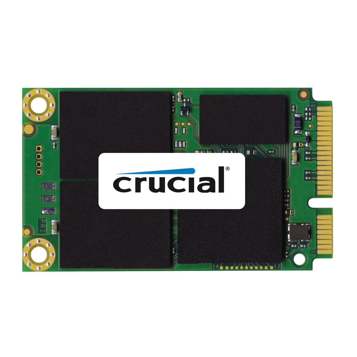 Disque SSD Crucial M500 mSATA 120 Go SSD 120 Go mSATA 6Gb/s