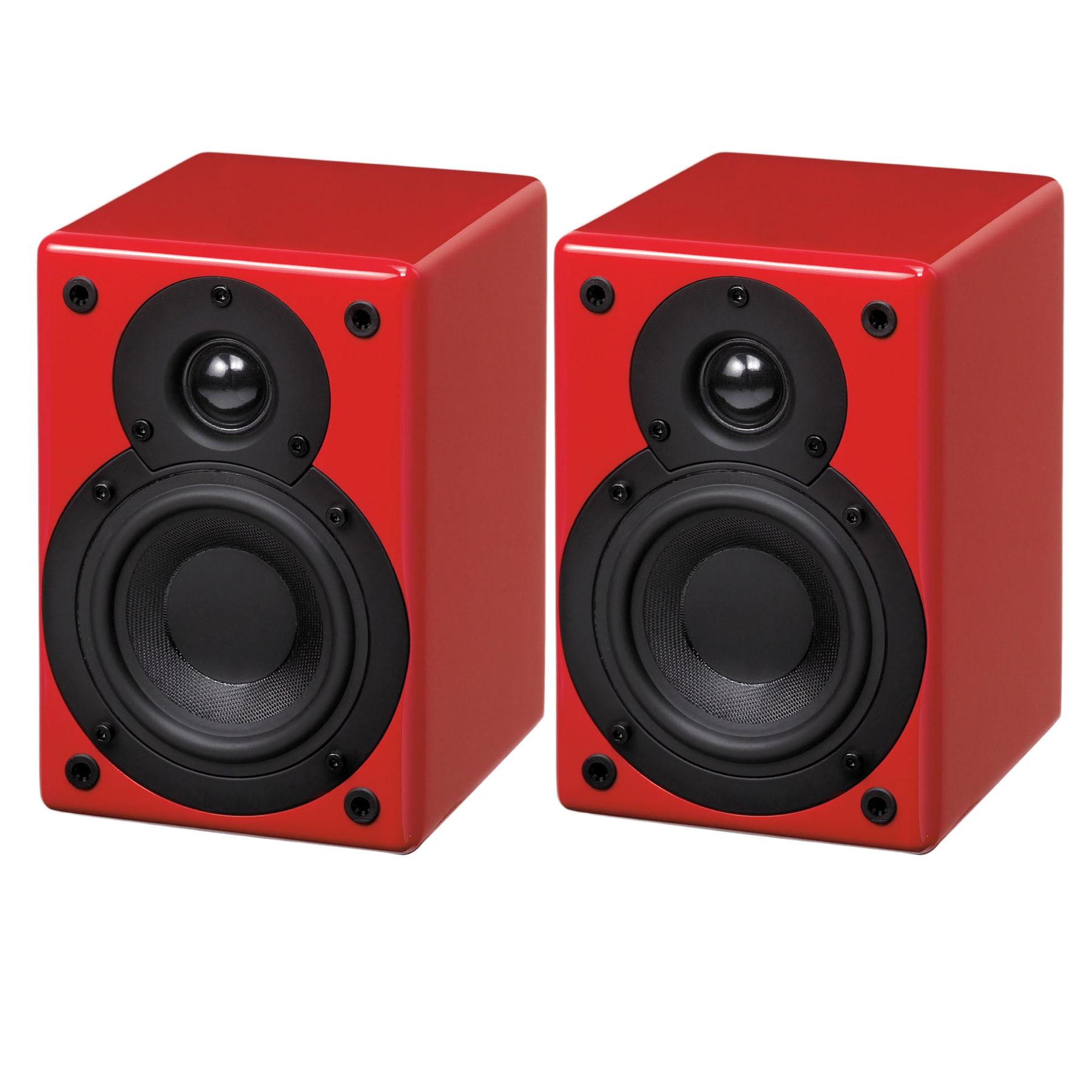 scansonic s3 active rouge enceintes hifi scansonic sur. Black Bedroom Furniture Sets. Home Design Ideas