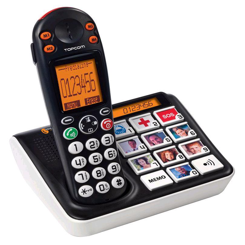 Topcom sologic b935 t l phone sans fil topcom sur for Telephone interieur sans fil
