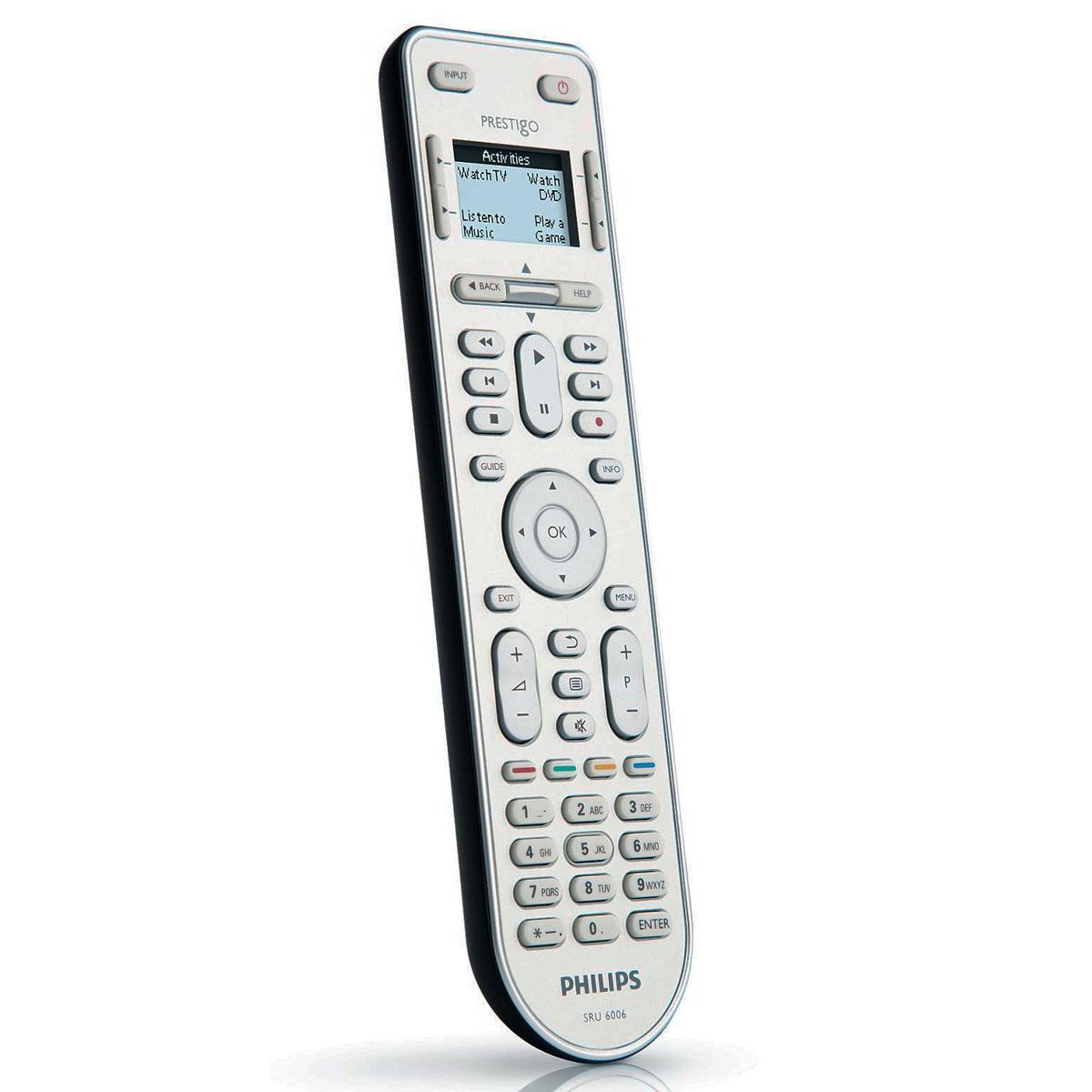 Philips prestigo sru6006 t l commande philips sur for Telecommande philips livingcolors ne fonctionne plus