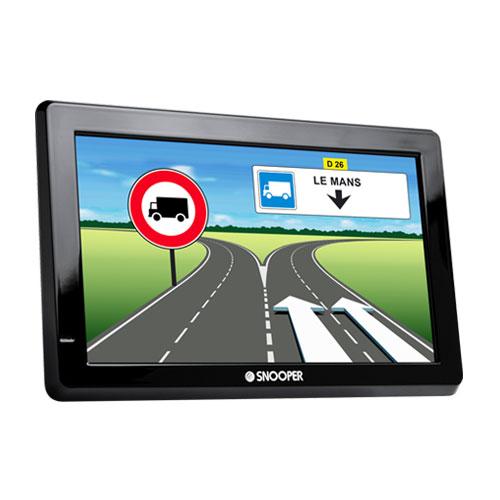 """GPS Snooper PL5200 Poids Lourd - Camion GPS Poids Lourd - Camion 46 pays d'Europe Ecran 5.0"""""""