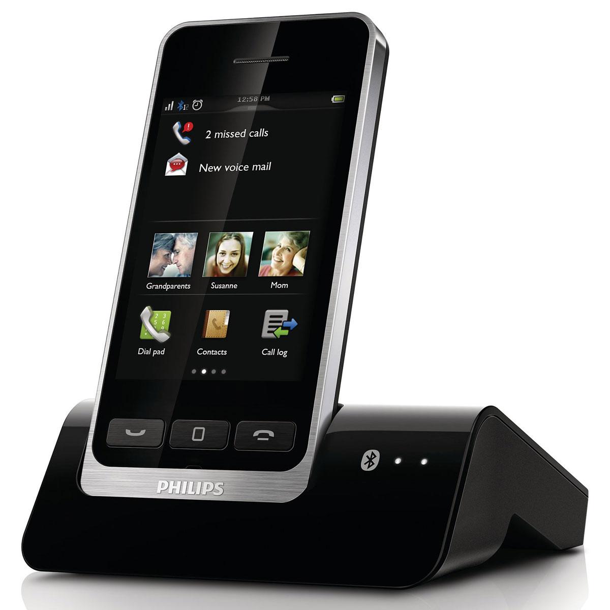 philips s10 t l phone sans fil philips sur. Black Bedroom Furniture Sets. Home Design Ideas