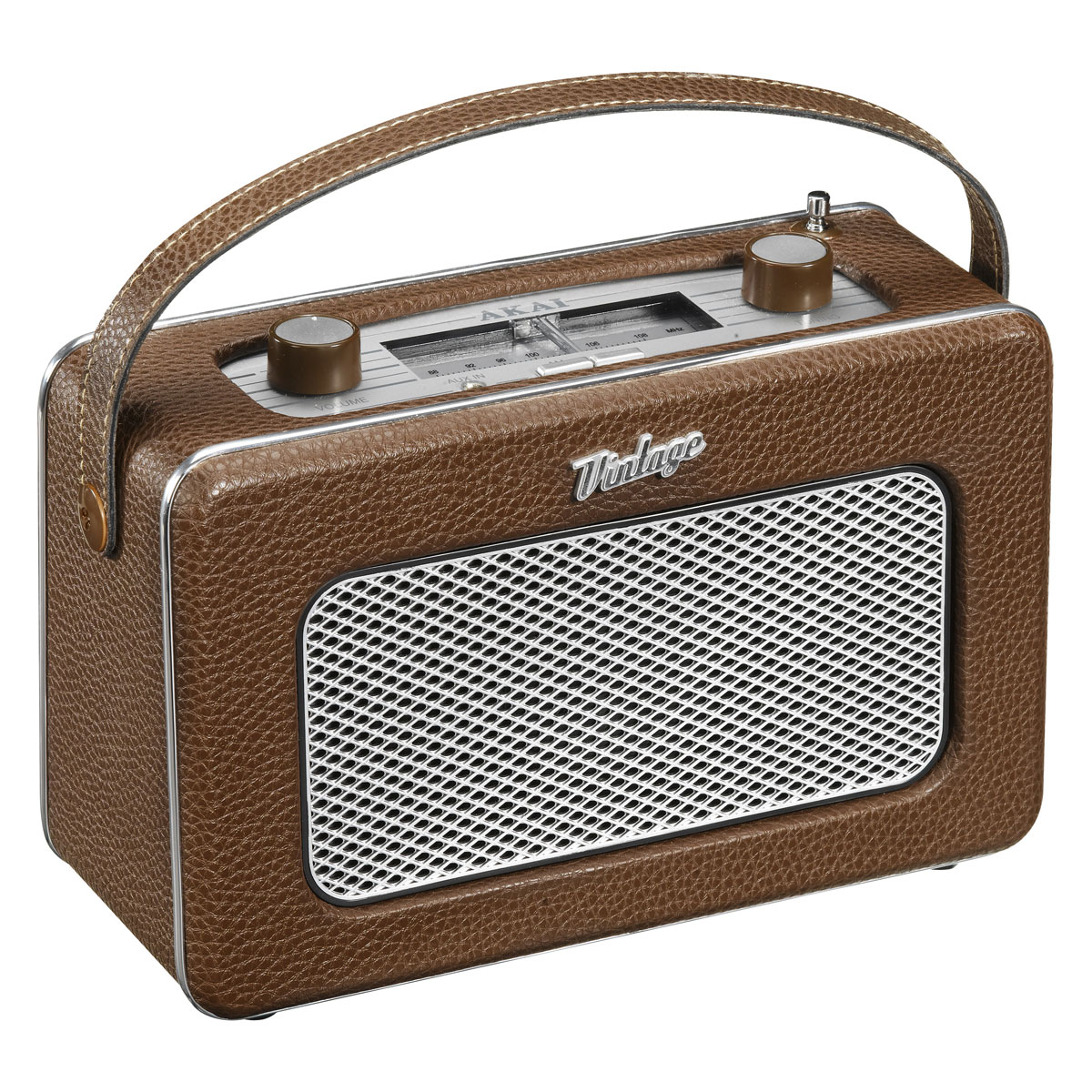 akai apr 200 marron radio radio r veil aka sur. Black Bedroom Furniture Sets. Home Design Ideas