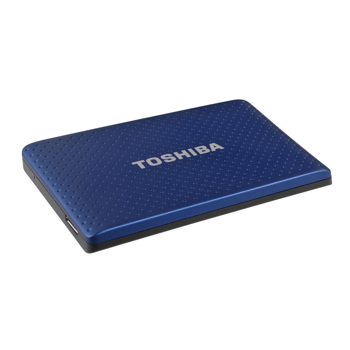 toshiba store partner 500 go bleu disque dur externe. Black Bedroom Furniture Sets. Home Design Ideas