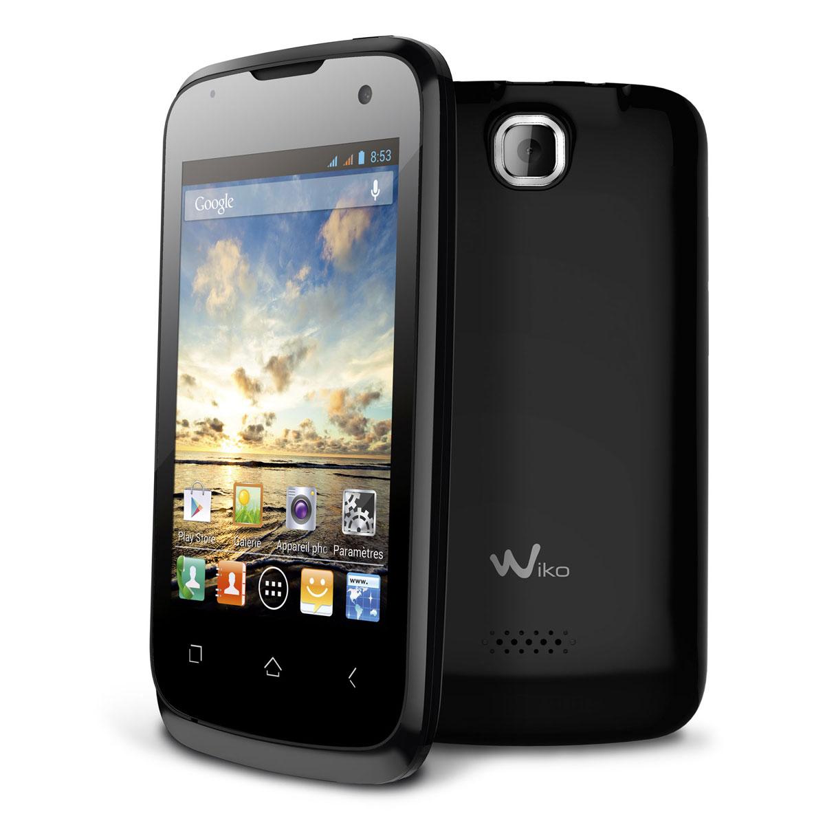 Wiko cink noir mobile smartphone wiko sur for Photo ecran wiko