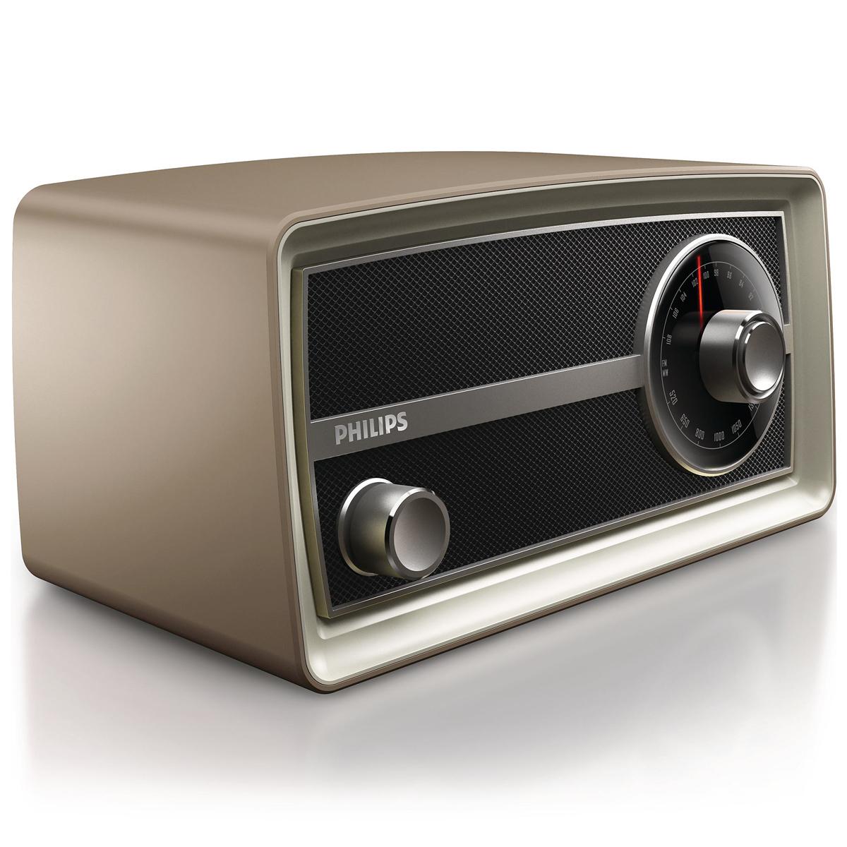 philips or2000m vintage mini radio radio r veil philips sur. Black Bedroom Furniture Sets. Home Design Ideas