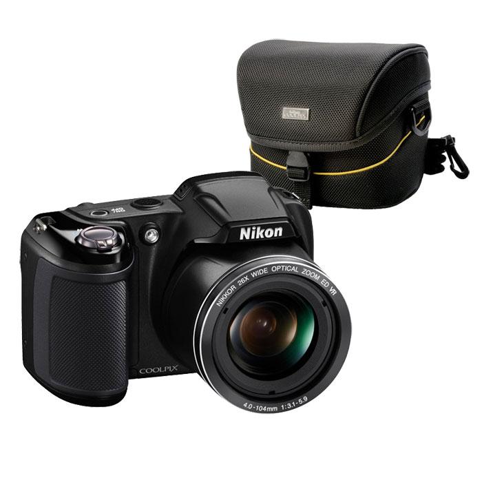 nikon coolpix l320 nikon cs p03 appareil photo num rique nikon sur. Black Bedroom Furniture Sets. Home Design Ideas