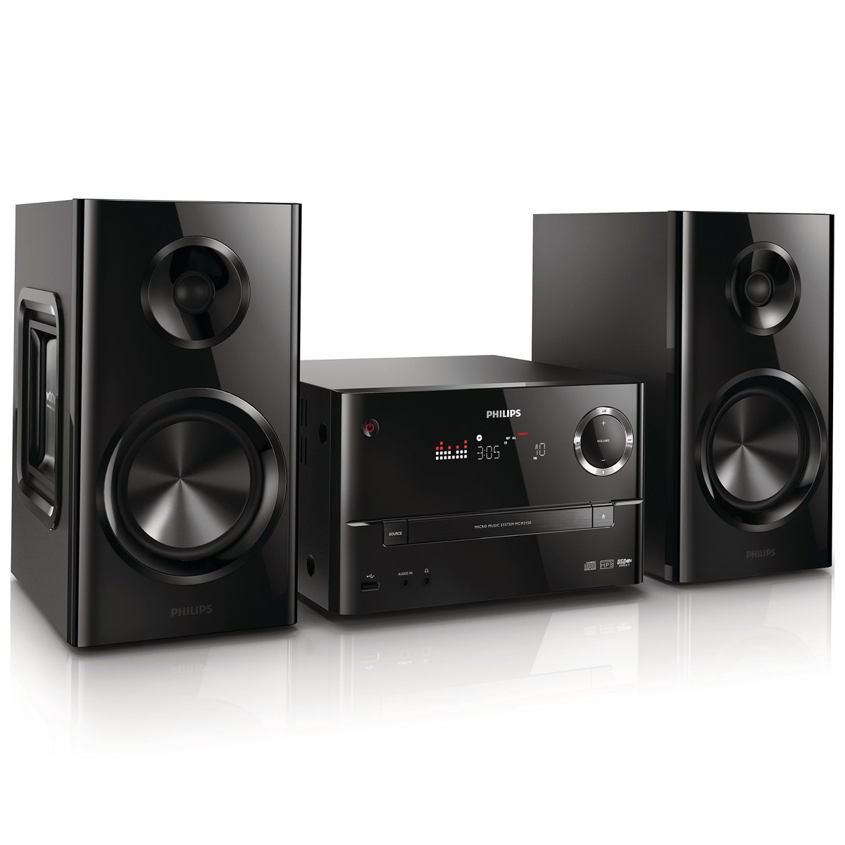 philips mcm3150 cha ne hifi philips sur. Black Bedroom Furniture Sets. Home Design Ideas
