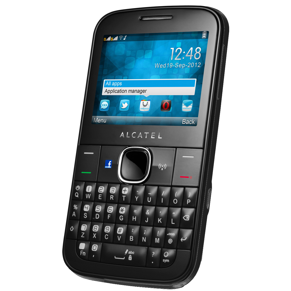 alcatel one touch 815d noir mobile smartphone alcatel. Black Bedroom Furniture Sets. Home Design Ideas