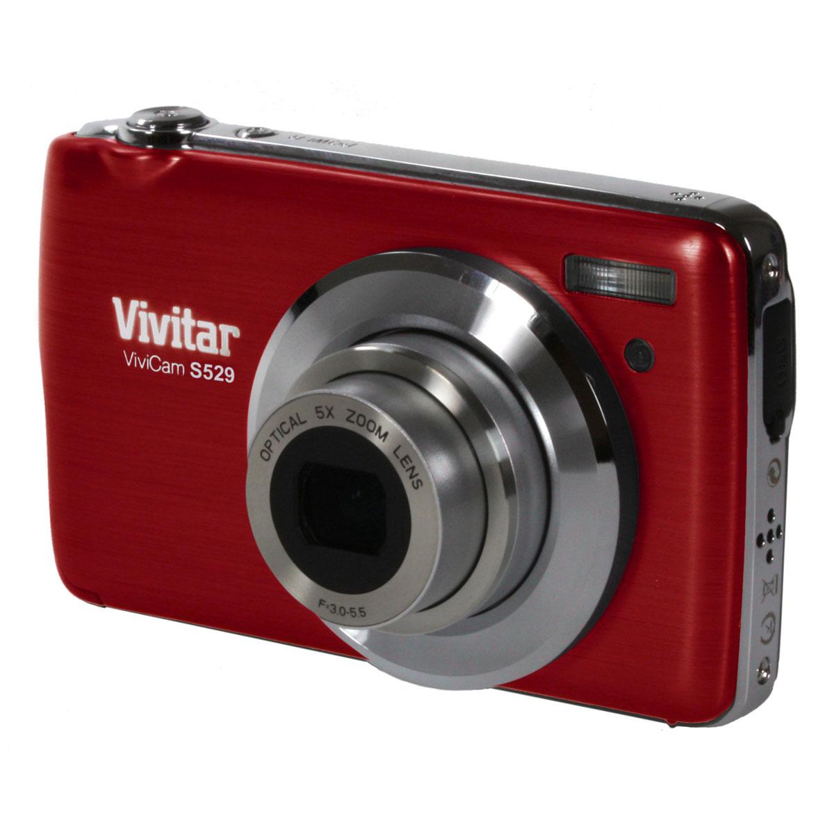 vivitar vivicam s529 rouge appareil photo num rique vivitar sur. Black Bedroom Furniture Sets. Home Design Ideas