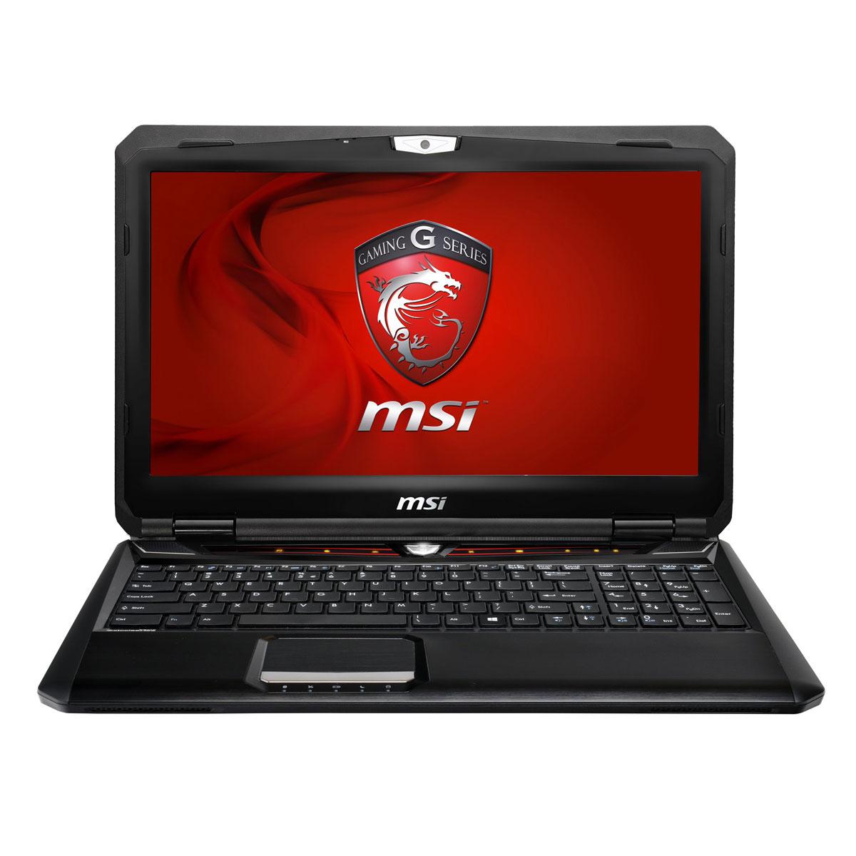 "PC portable MSI GX60 3BE-246XFR Hitman Edition AMD Quad-Core A10-5750M 8 Go 750 Go 15.6"" LED AMD Radeon HD 8970M Graveur DVD Wi-Fi N/Bluetooth Webcam FreeDOS (garantie constructeur 1 an)"
