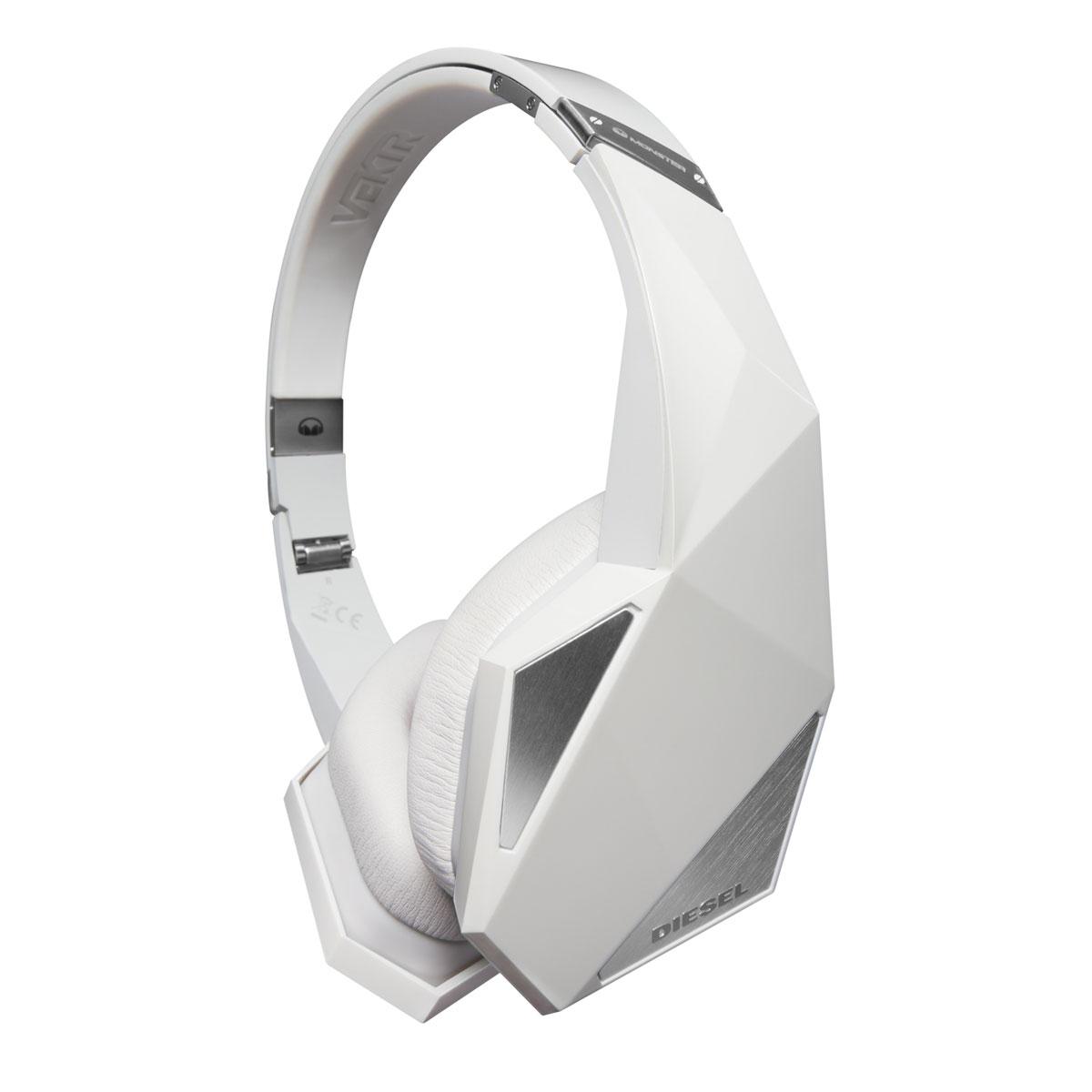 Monster diesel vektr blanc casque monster sur for Le meuble headsets