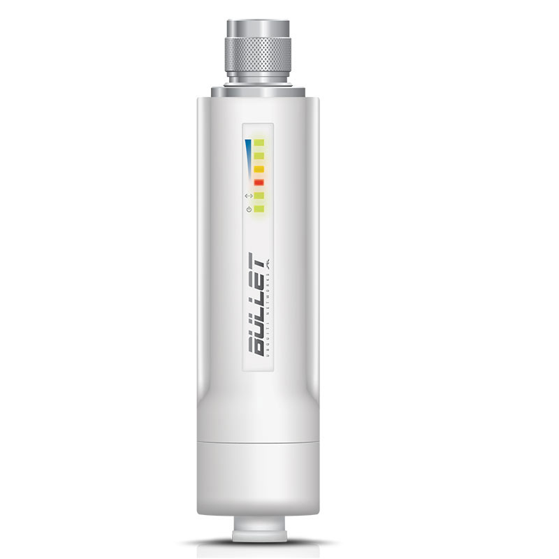 Point d'accès WiFi Ubiquiti Bullet M2-HP Point d'accès extérieur Wi-Fi B/G/N 2 GHz