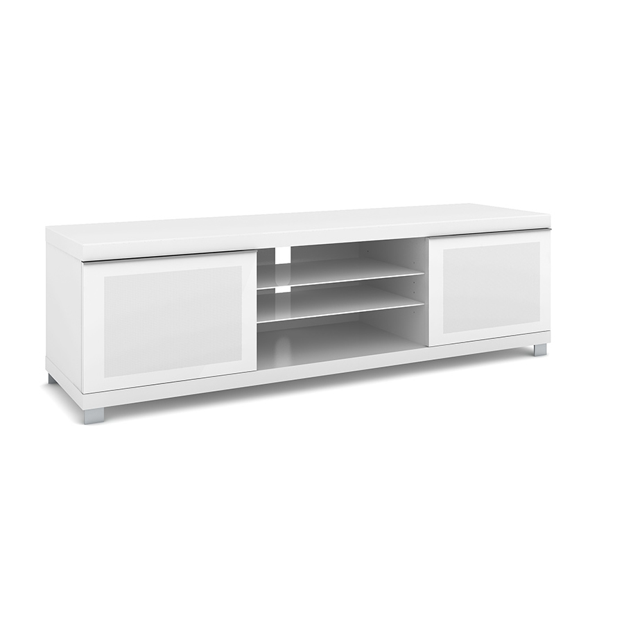 elmob large lr 160 01 blanc meuble tv elmob sur. Black Bedroom Furniture Sets. Home Design Ideas