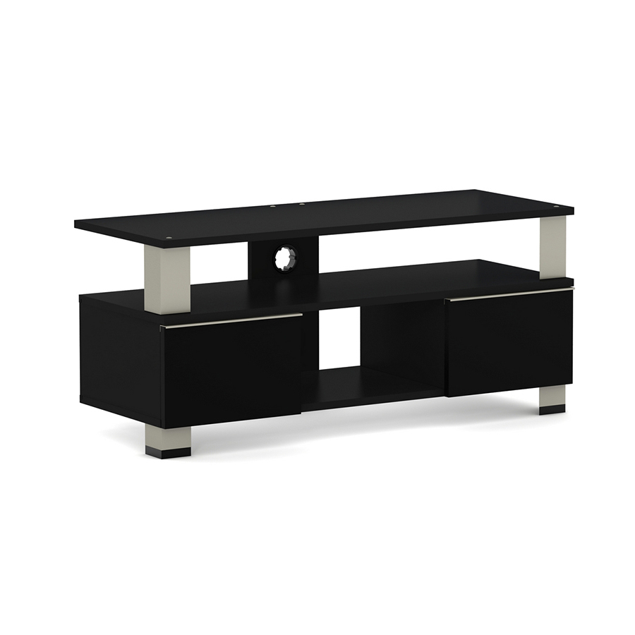 elmob kupa ku 110 05 noir meuble tv elmob sur. Black Bedroom Furniture Sets. Home Design Ideas