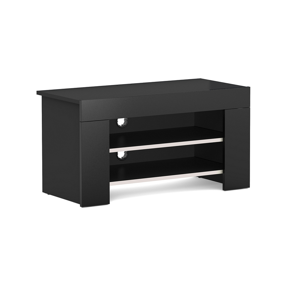 elmob mimoza mi 095 01 noir meuble tv elmob sur. Black Bedroom Furniture Sets. Home Design Ideas