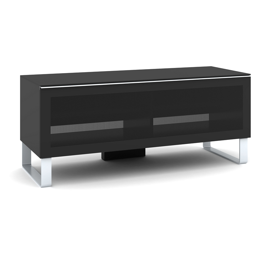 Elmob exclusive ex 120 03 noir meuble tv elmob sur for Meuble tv mural miraz 03