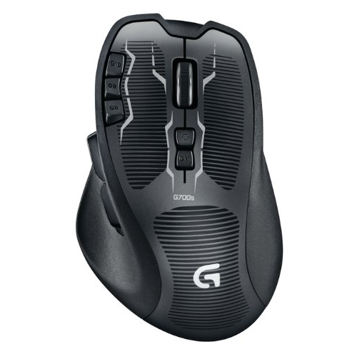 logitech g700s rechargeable gaming mouse souris pc logitech sur. Black Bedroom Furniture Sets. Home Design Ideas