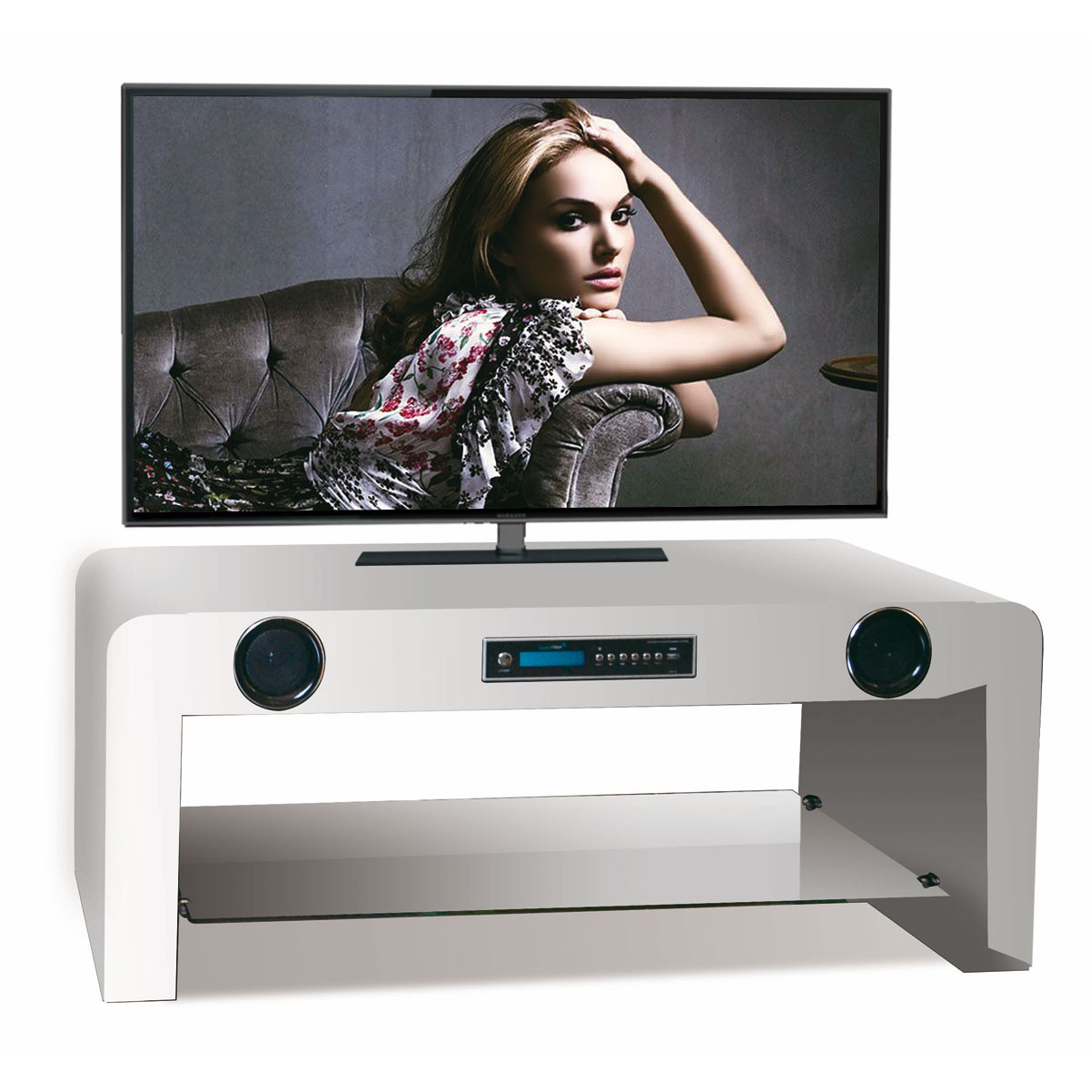 Soundvision Sv 50 Bt Noir Ensemble Home Cin Ma Soundvision Sur  # Meuble Tv Homecinema