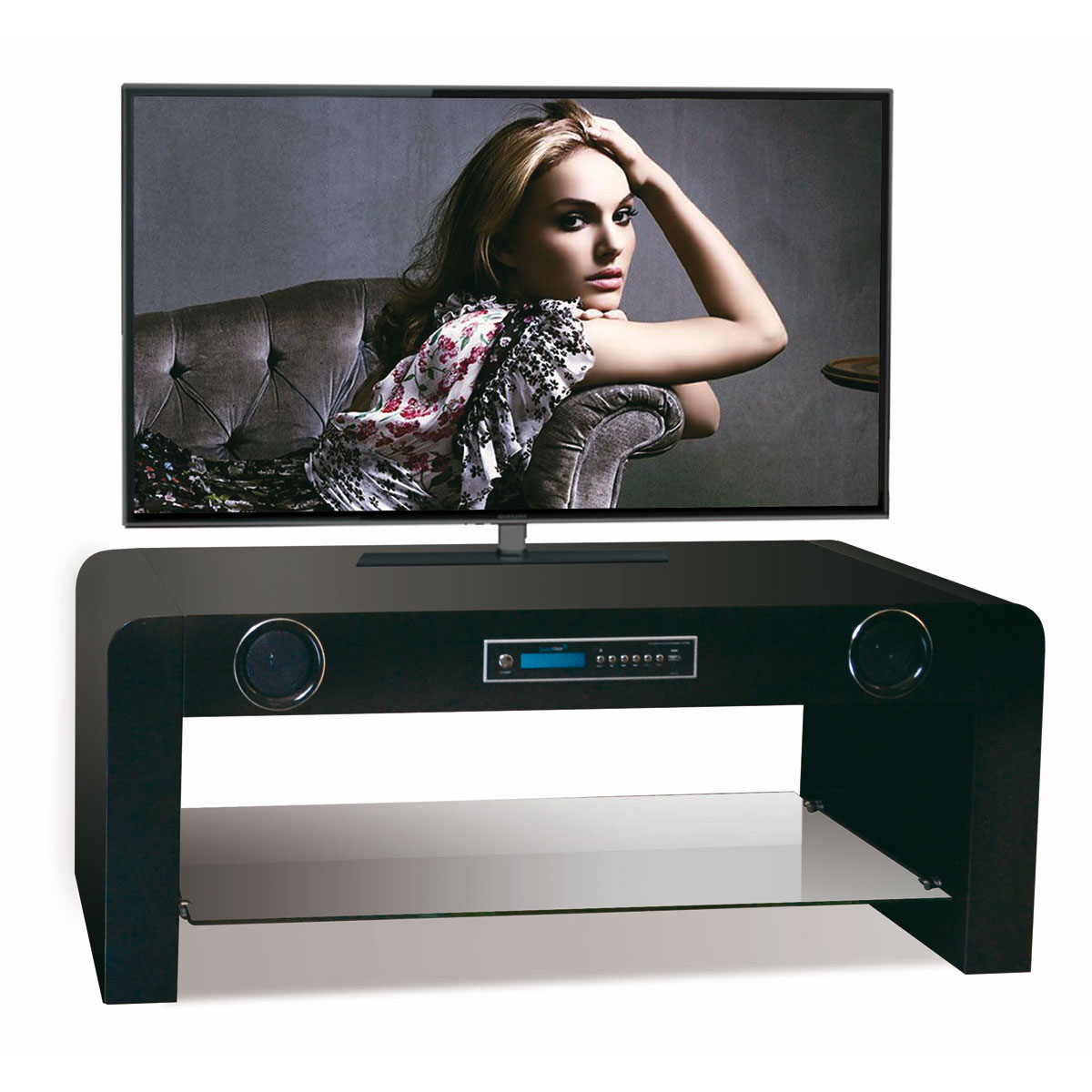 Soundvision Sv 50 Bt Noir Ensemble Home Cin Ma Soundvision Sur  # Soundvision Meuble Tv Hifi