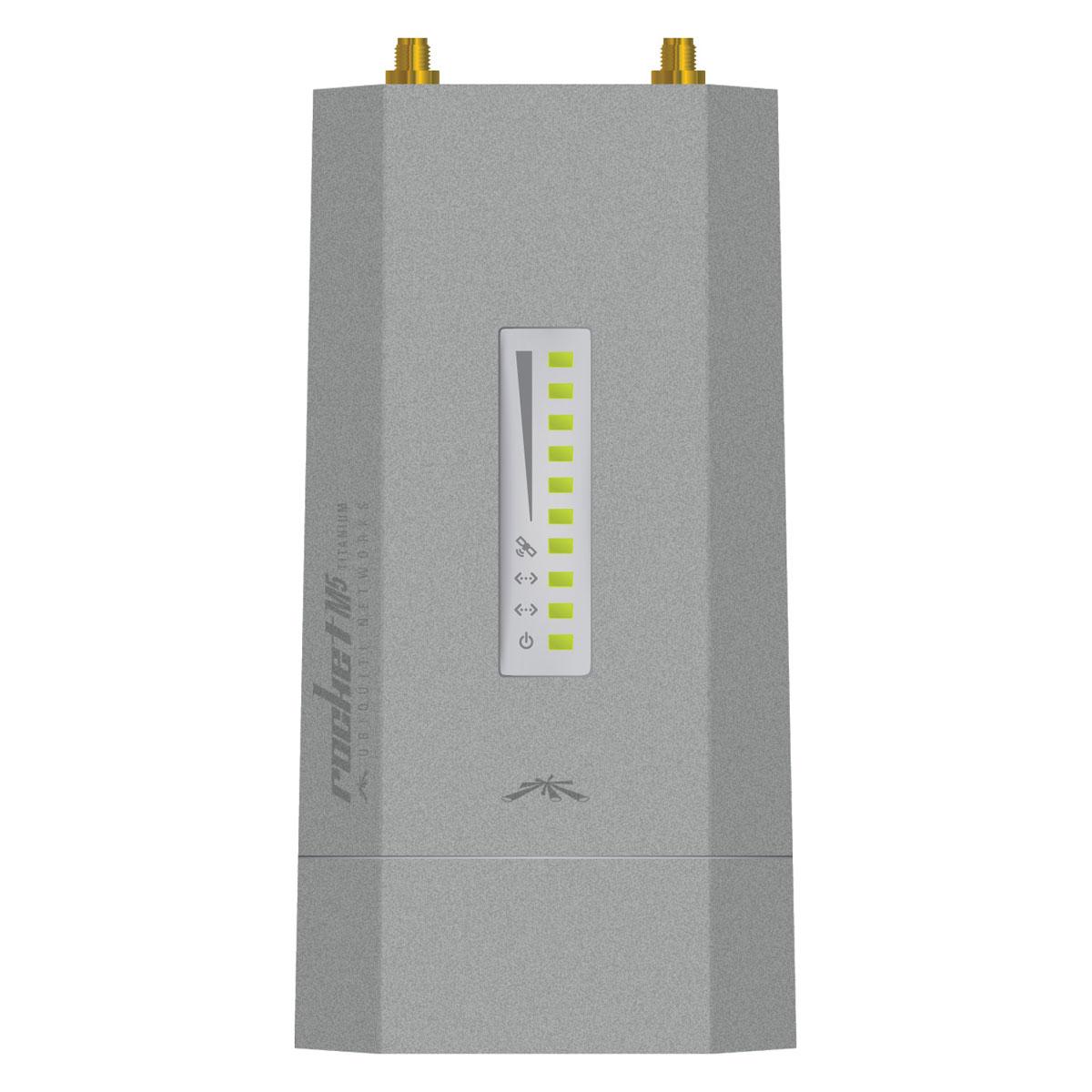 Ubiquiti rocket m5 titanium point d 39 acc s wifi ubiquiti for Borne wifi exterieur