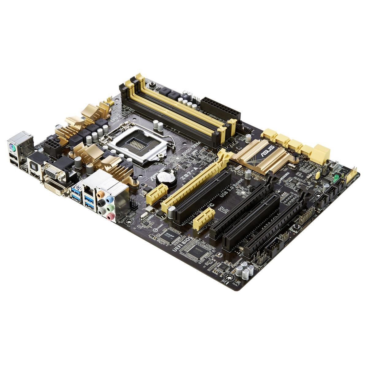 Carte mère ASUS Z87-A C2 Carte mère ATX Socket 1150 Intel Z87 Express - SATA 6Gb/s - USB 3.0 - 2x PCI-Express 3.0 16x + 1x PCI-Express 2.0 16x